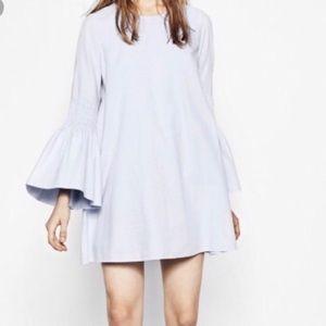 Zara light blue dress size L